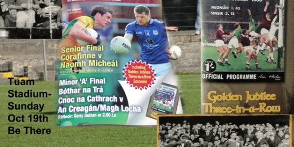 County Football Finals Sunday Oct 19th