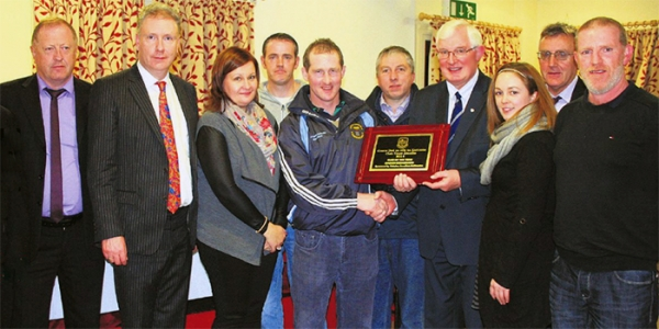 Juvenile Award for Ballygar Club
