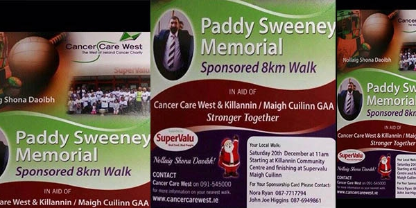 Paddy Sweeney Memorial Walk