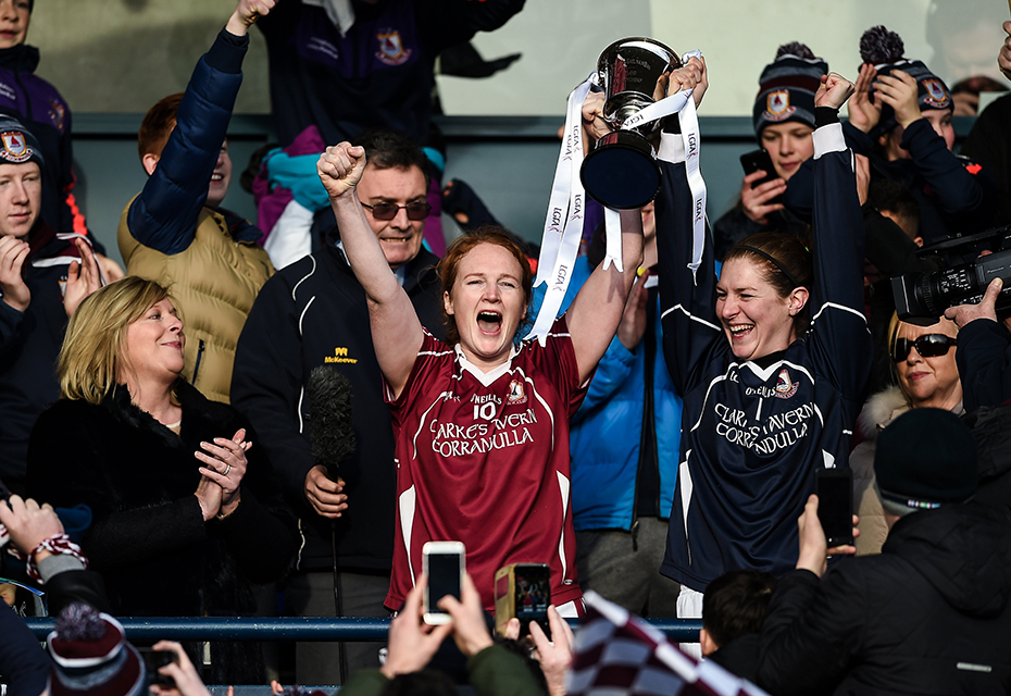All-Ireland glory for Annaghdown Ladies Football