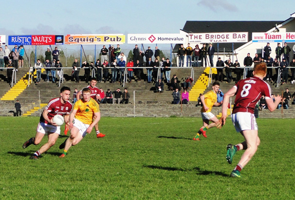 Under 21 Footballers survive poor second half display  against Leitrim