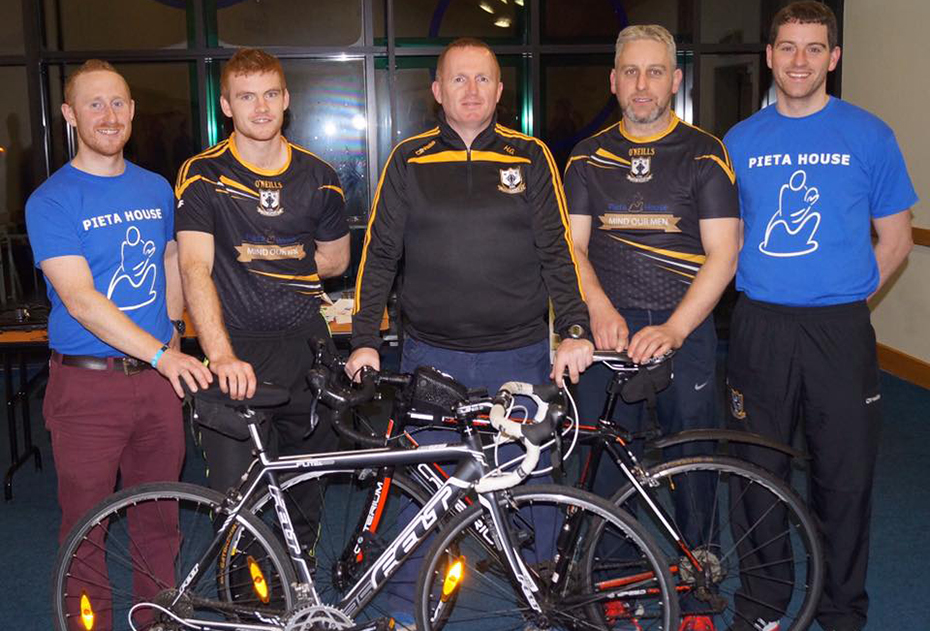 Croke Park to Killimor Cycle for Pieta House on Sunday