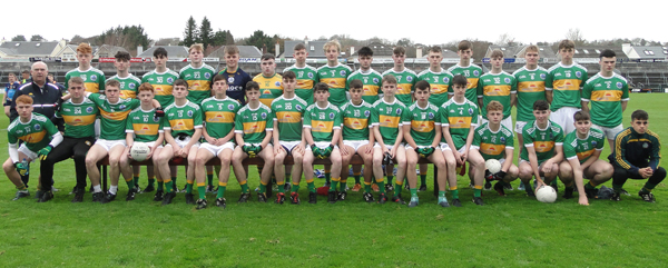 Claregalway Minor A Finalists web